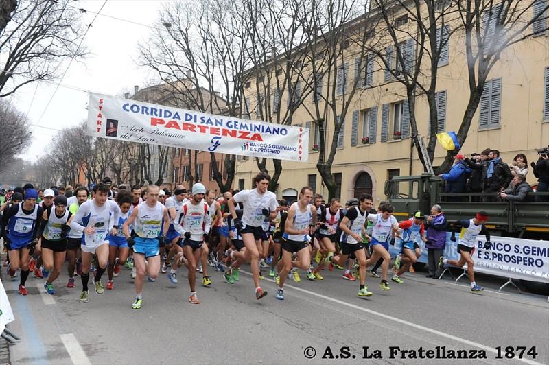 Samir Jouaher e Giorgia Morano vincono la 39ª Corrida di San Geminiano