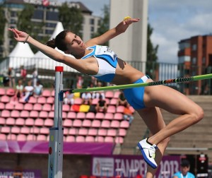 Alessia Trost salterà nella Finale di Modena (foto Colombo/FIDAL)