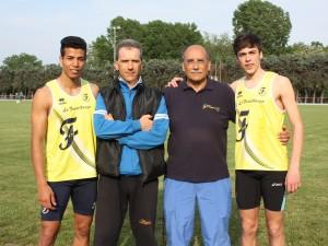 Khalifi Calvano e allenatori