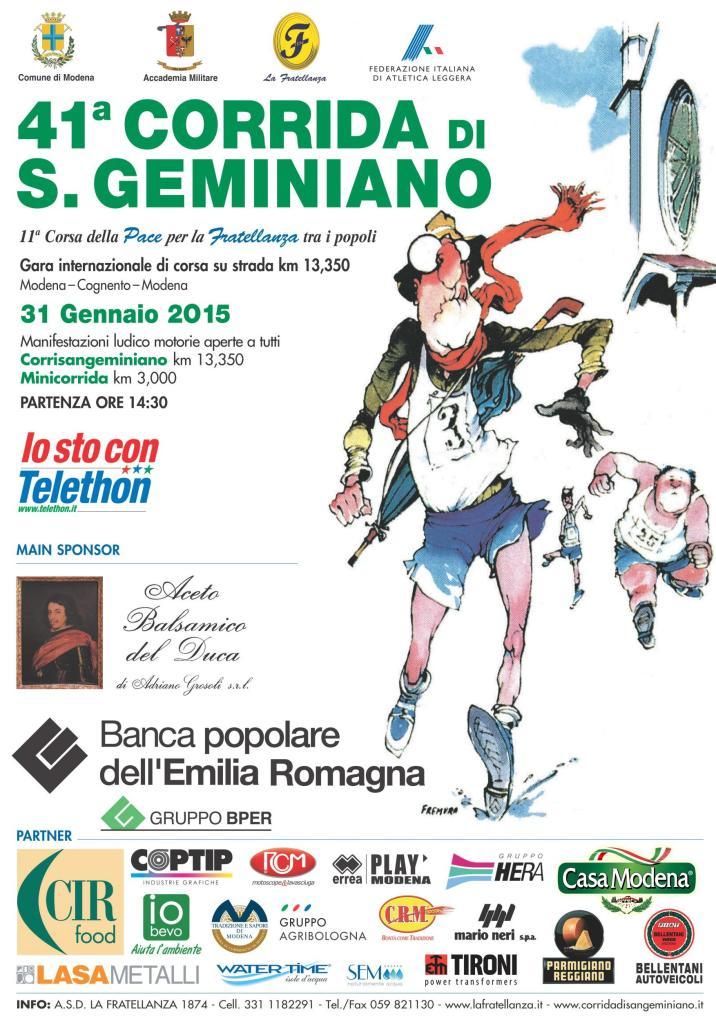 Manifesto Corrida 2015