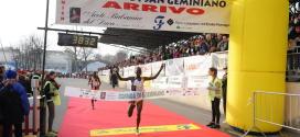 41ª Corrida di San Geminiano: Lokomwa e Jelagat gioie keniane. Ricatti e Galimberti l'azzurro che brilla