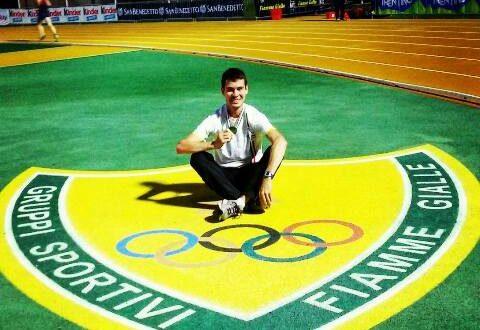 Giacobazzi campione italiano under 23. A Castelporziano riscrive il suo record nei 10.000 metri