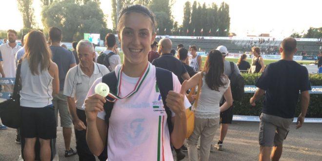Francesca Bertoni è campionessa italiana dei 3.000 siepi. Quarti Casolari e Pilato