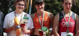Lucilla Celeghini d'argento ai Campionati Italiani Allievi. Elena Pradelli sfiora il bronzo