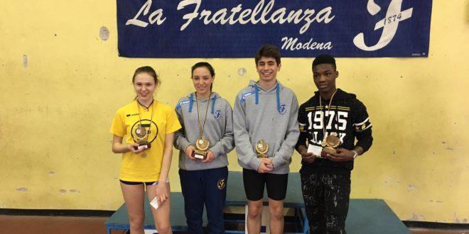La Ragazza ed il Ragazzo più veloci di Modena: Ludovica Di Bitonto e Niccolò Cavicchioli vincono tra le scuole medie