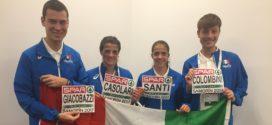 Eurocross: il freddo di Samorin congela i sogni di medaglia dei nostri azzurri. Colombini nella top 20 d'Europa tra gli Under 23. Casolari, gran staffetta