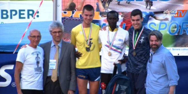Giacobazzi d'argento agli Italiani dei 10.000 metri. A Castiglione bene Colombini e Bertoni mentre sul podio Fornasari, Caiumi e Purboo