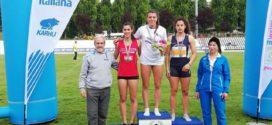 Lucia Quaglieri Campionessa Italiana Under 23 di prove multiple. A Isernia la Giannotti bronzo nei 200. Bressanone e Modena: ecco i risultati
