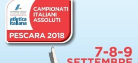 17 atleti alla caccia dei titoli assoluti a Pescara