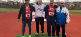Campionati Invernali di Lanci Master, 4 titoli italiani per la Fratellanza