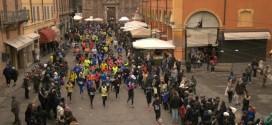 40ª Corrida di San Geminiano – passaggio al Duomo di Modena